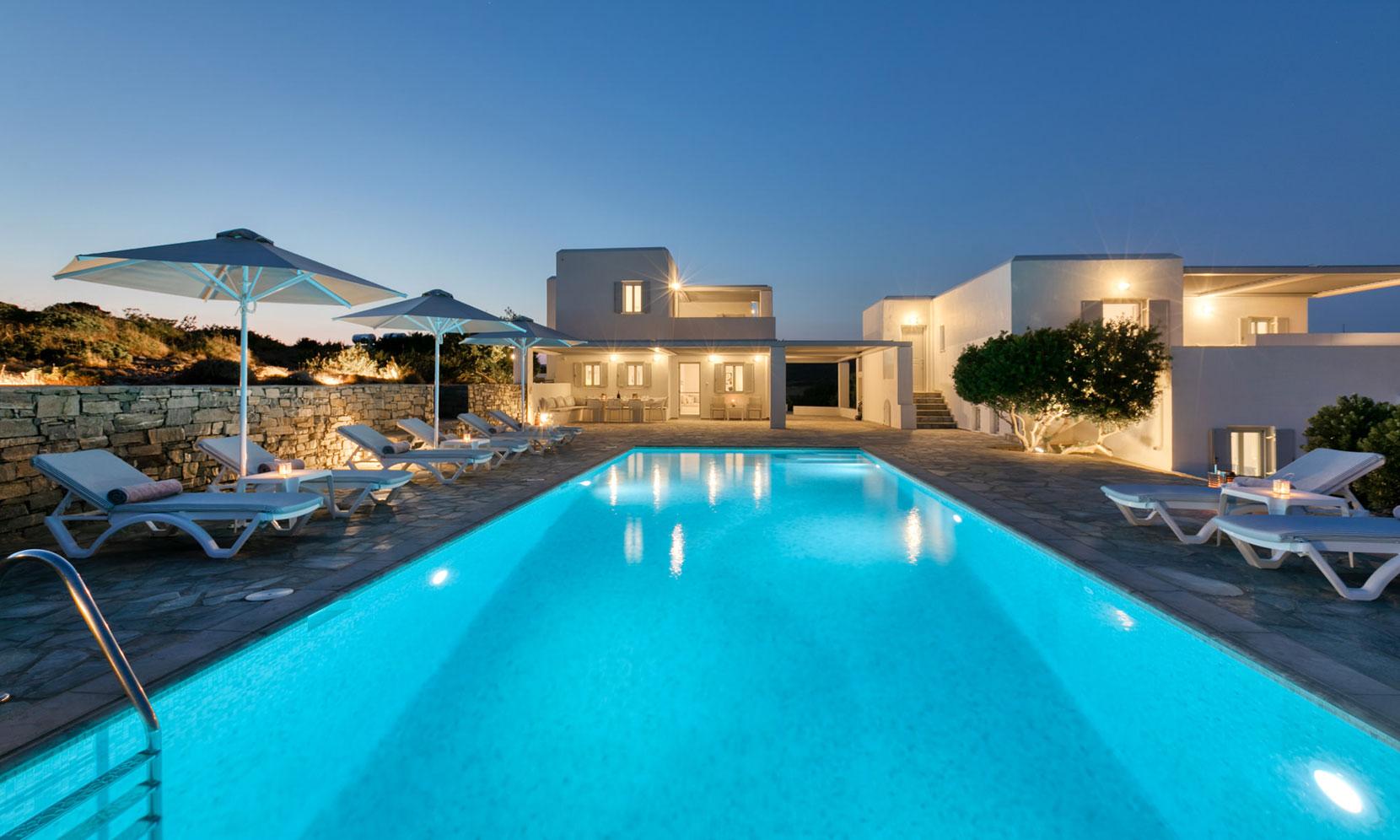 Paros Villa Adria jumbotron image