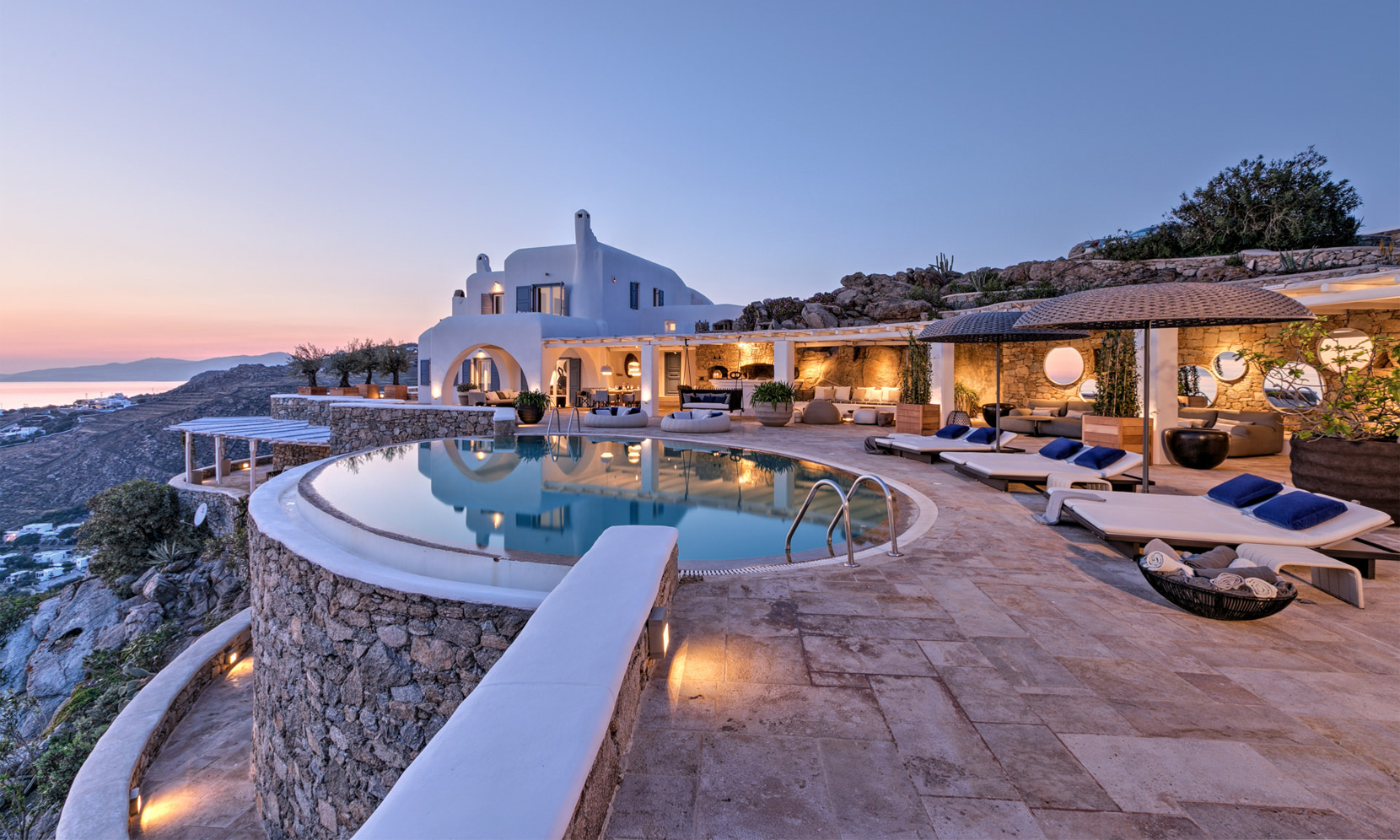 Mykonos Villa Orcus jumbotron image