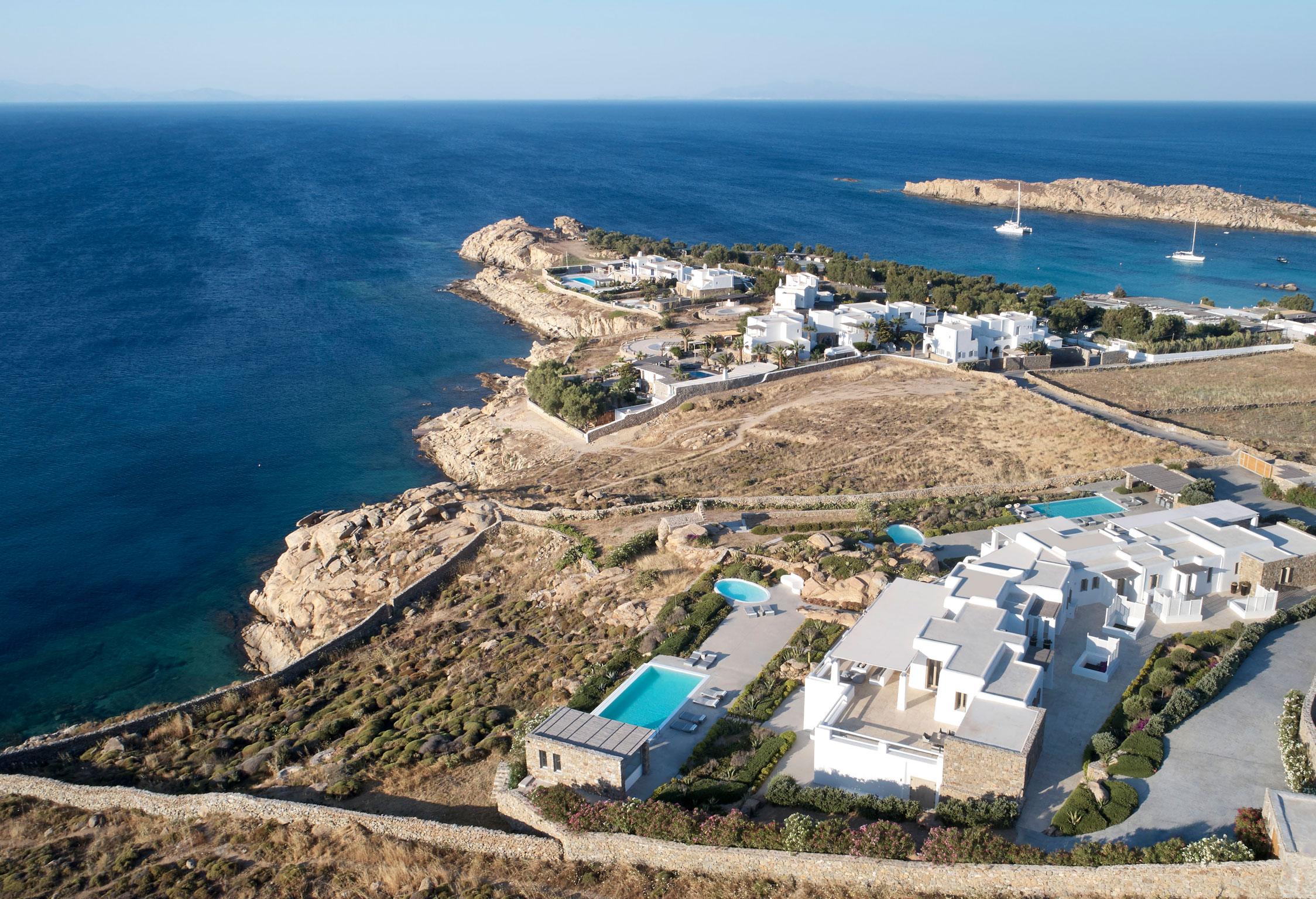 Mykonos Oceanides Retreat jumbotron image