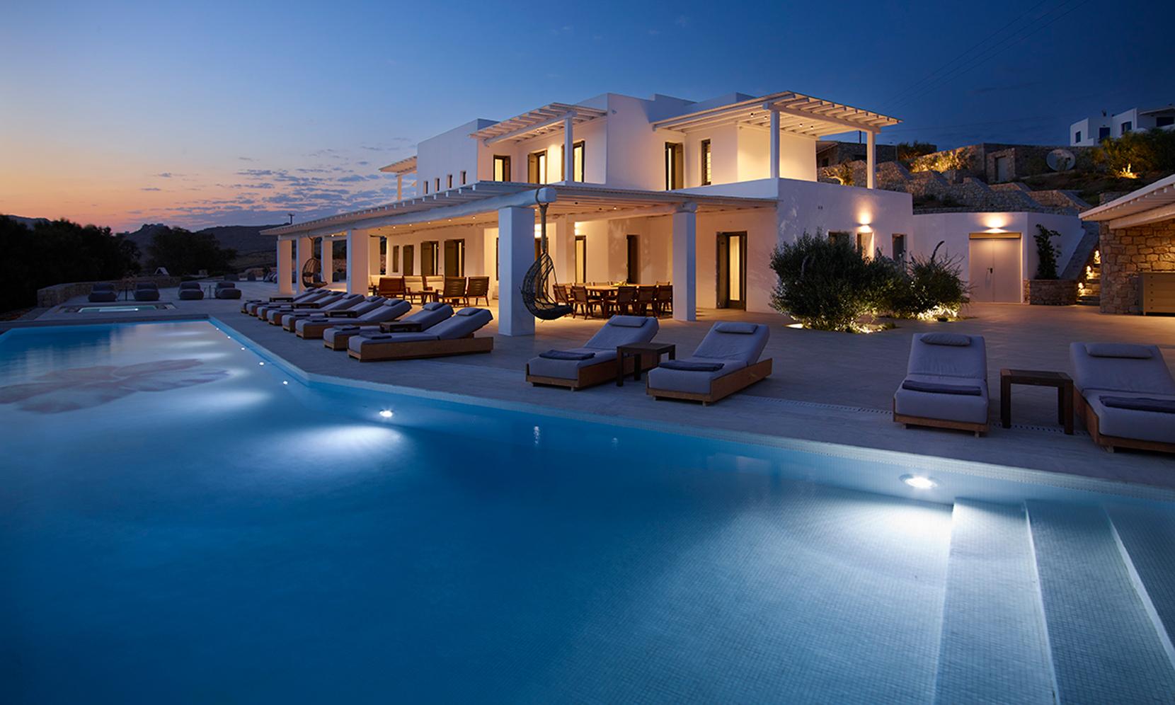 Mykonos Villa Azeus jumbotron image
