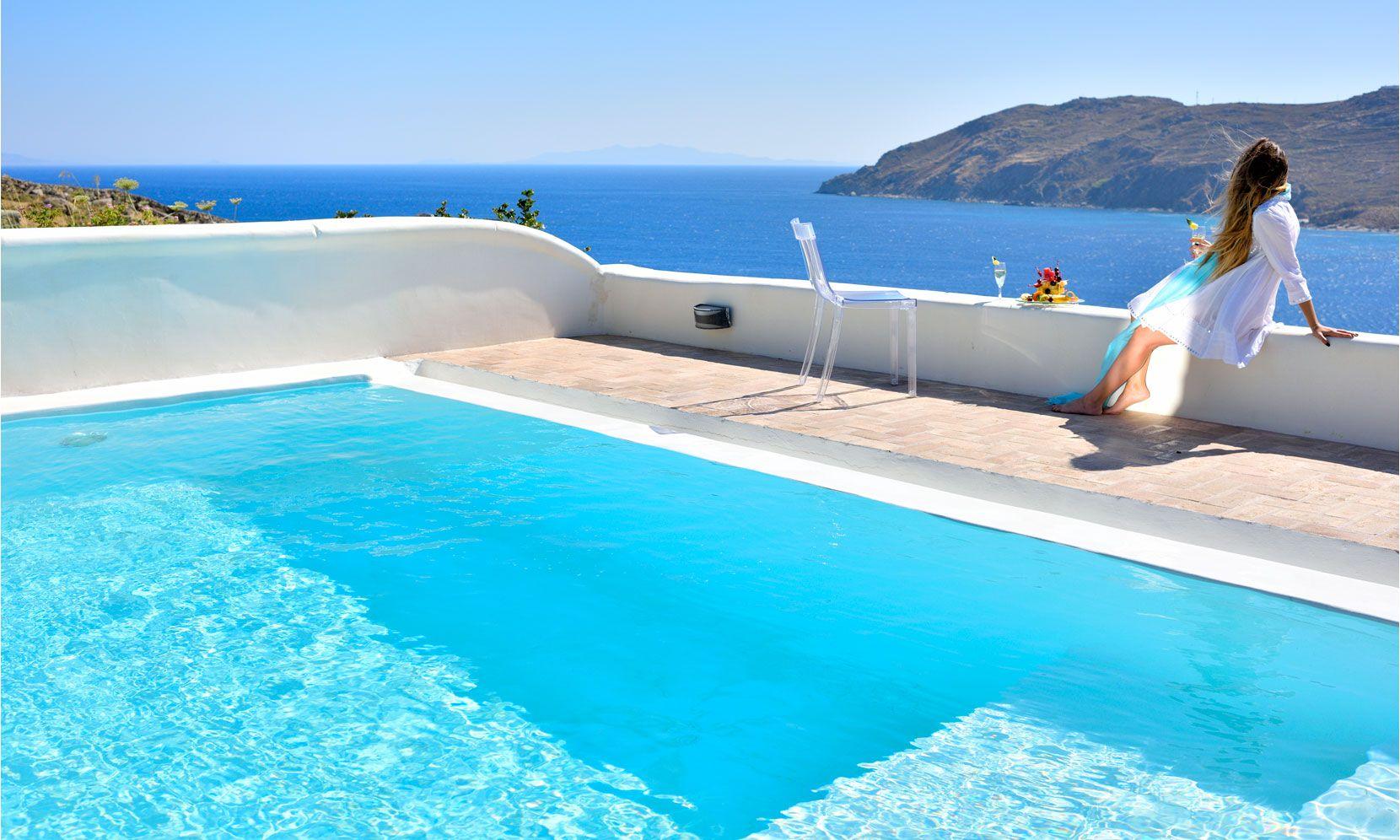 Mykonos Villa Celine jumbotron image