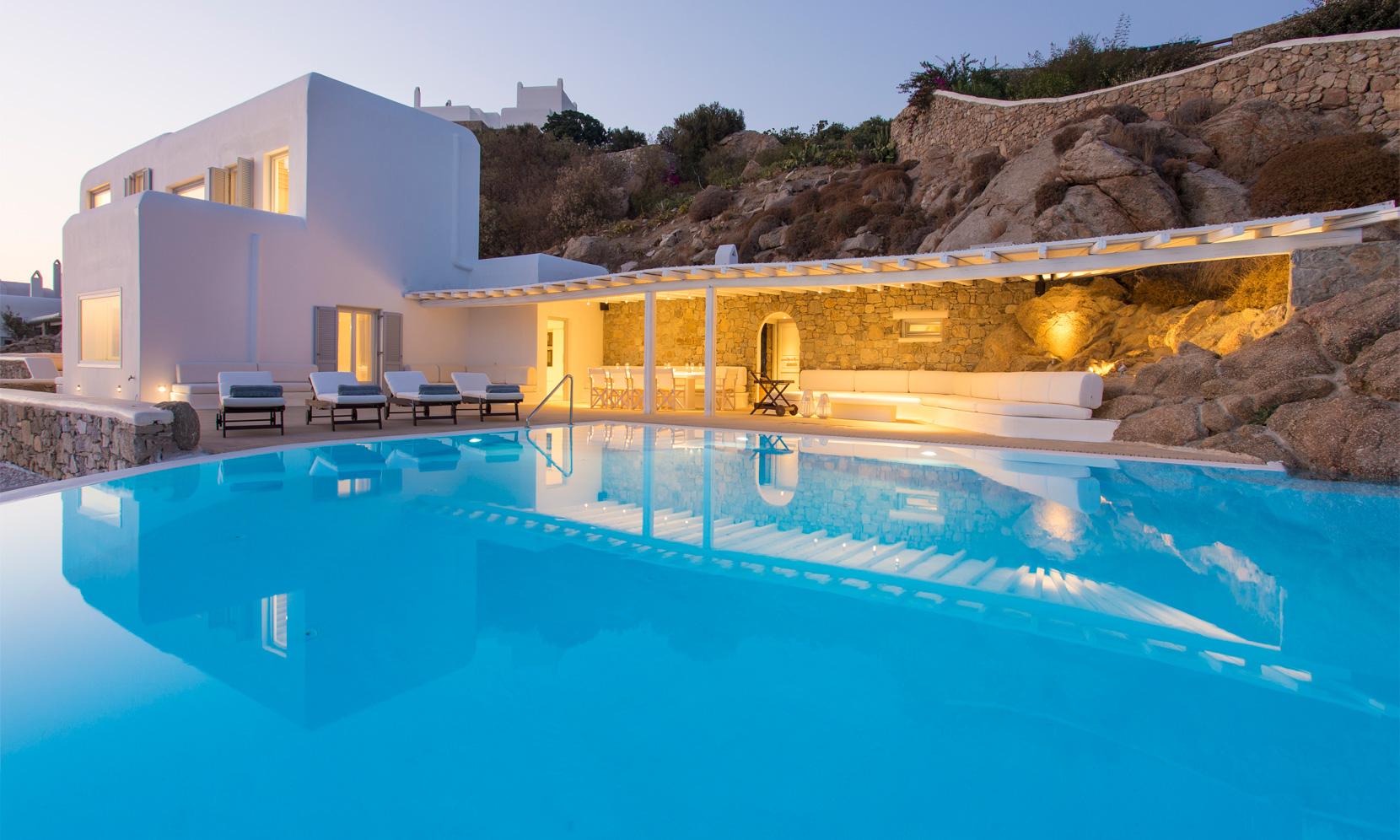 Mykonos Villa Lazare II jumbotron image
