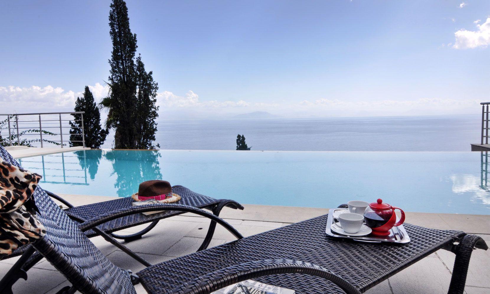 Corfu Villa Megan jumbotron image