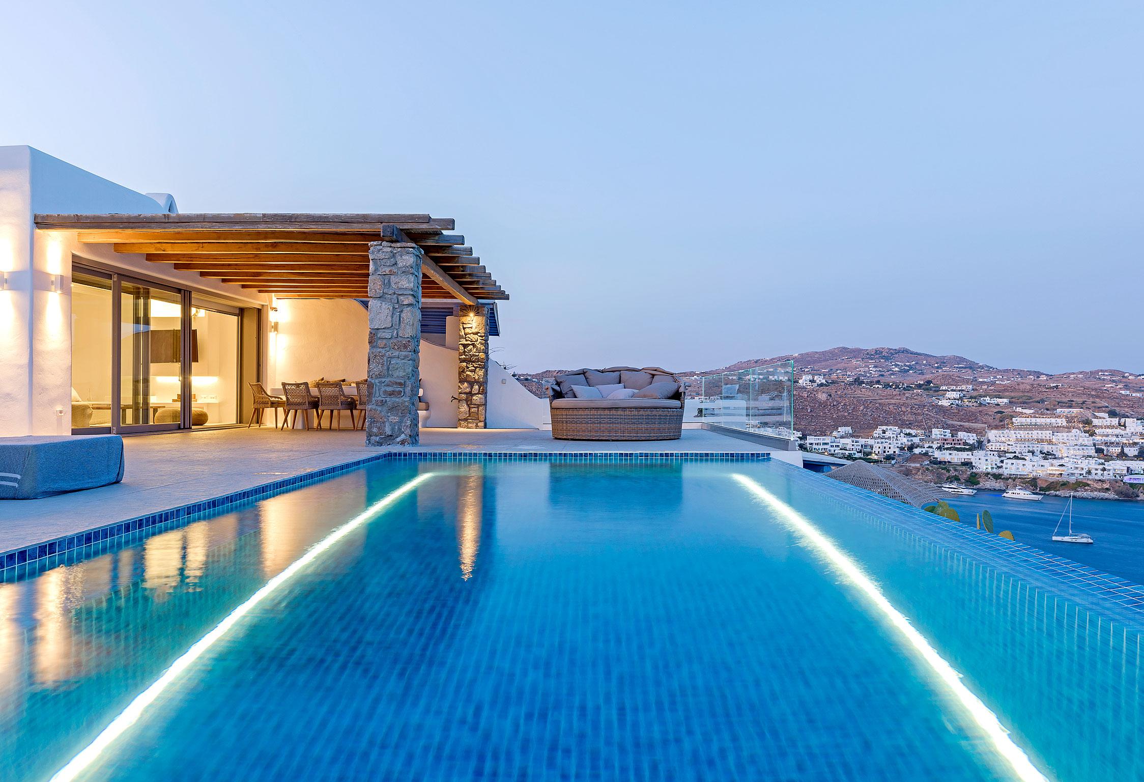 Mykonos Villa Delfine jumbotron image
