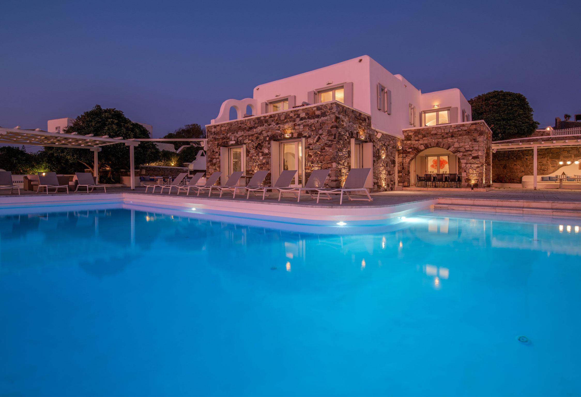 Mykonos Villa Eumelia jumbotron image