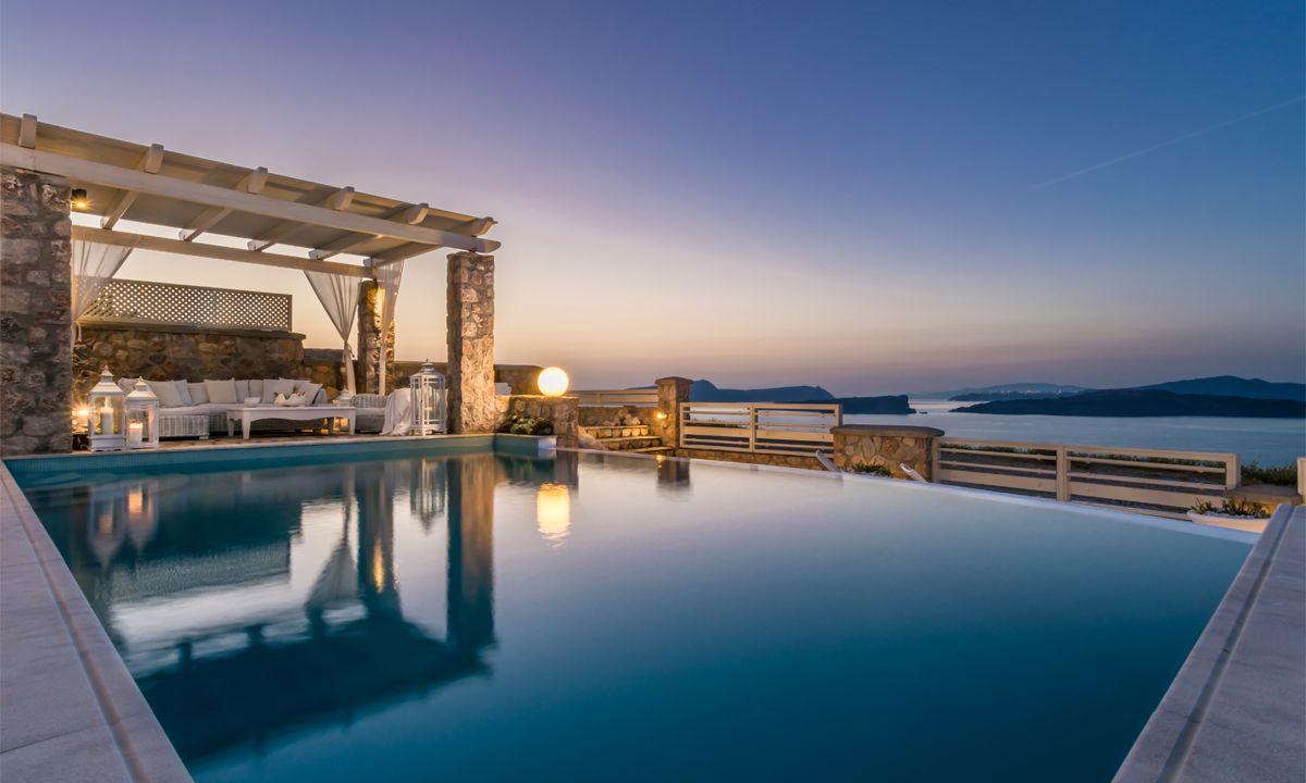 Santorini Villa Bion jumbotron image
