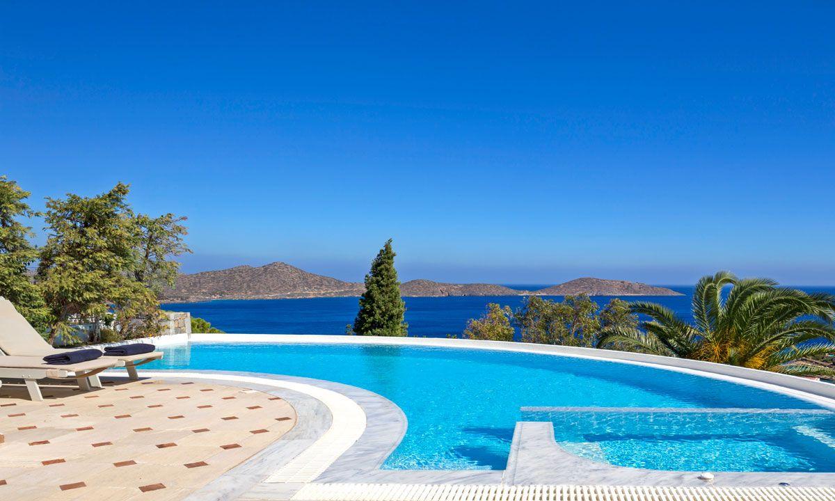 Crete Villa Thetis Mediterrenean jumbotron image