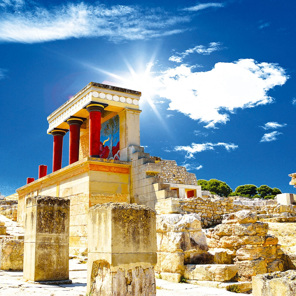 Private Tour, Knossos Palace & Wine Tasting