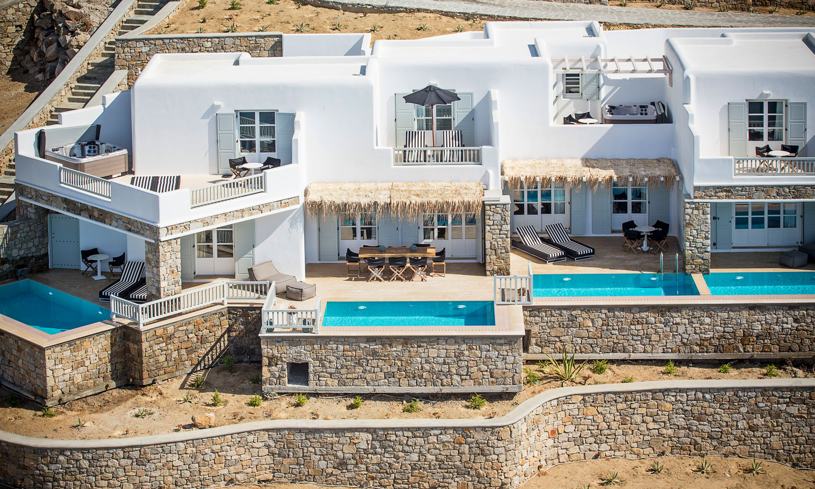 Mykonos Villa Ornos jumbotron image