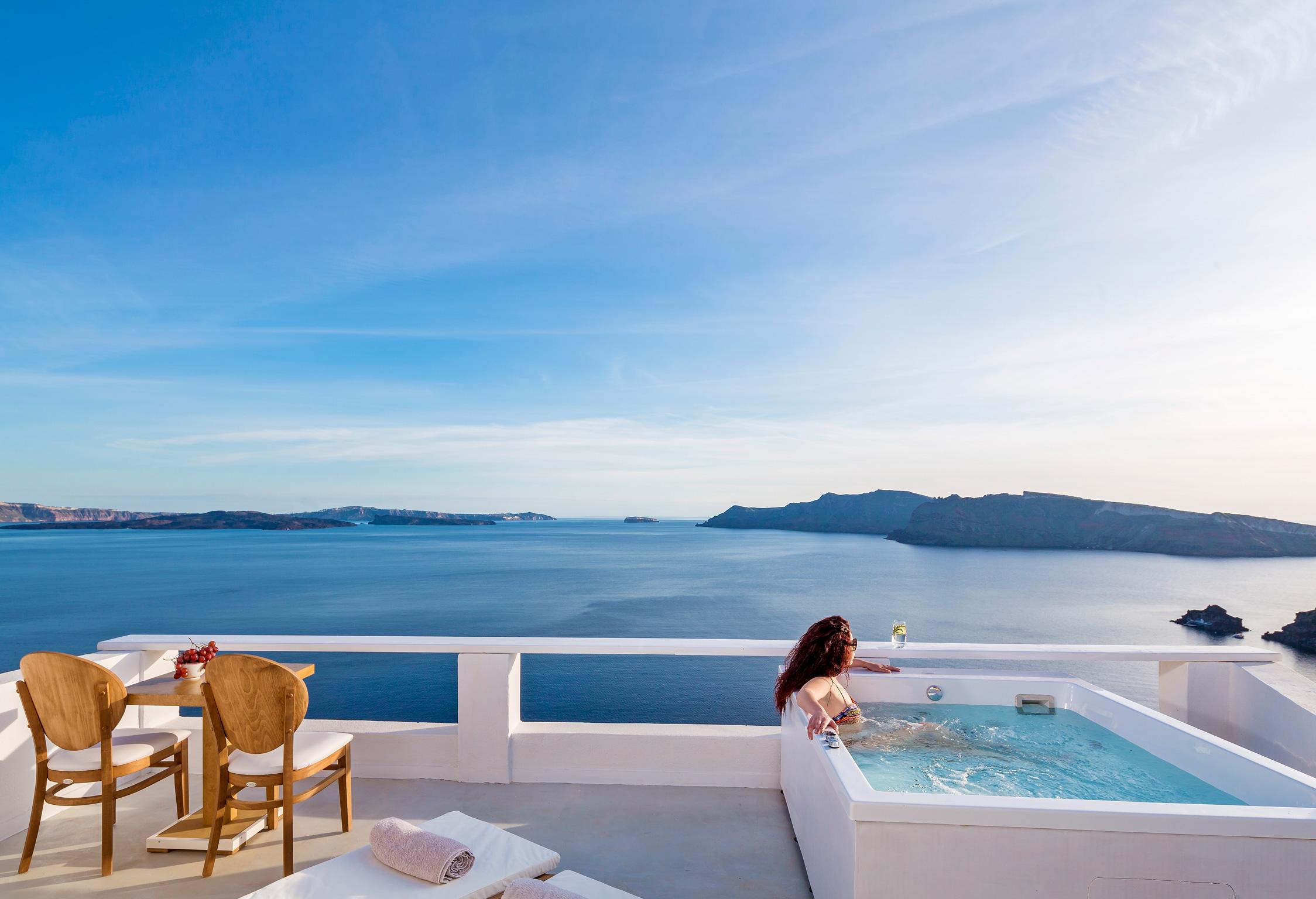 Santorini Villa Thais Pure jumbotron image