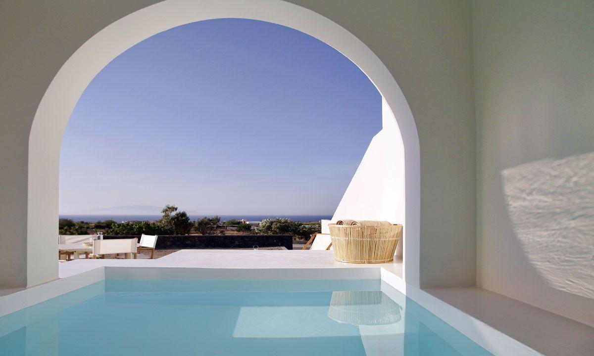 Santorini Villa Lumina jumbotron image