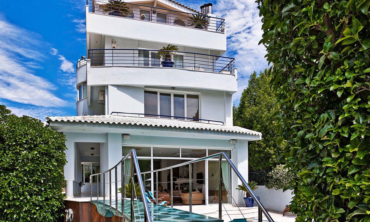 Athens Villa Talos jumbotron image