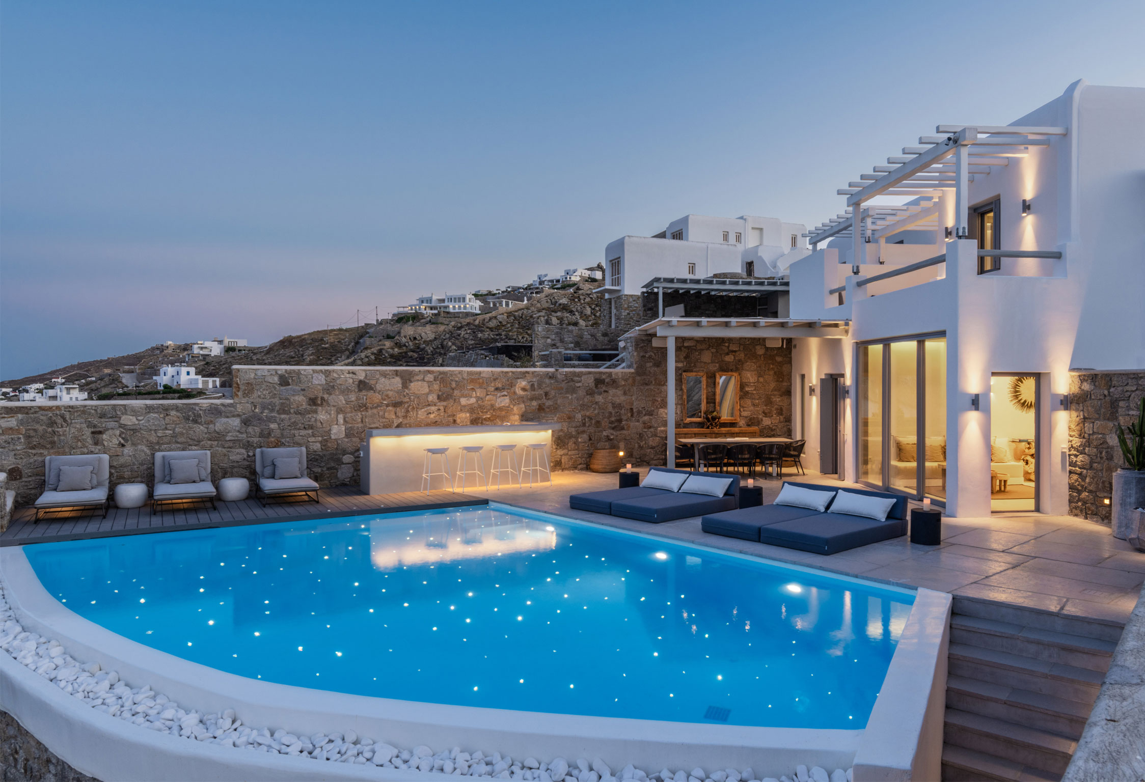 Mykonos Villa Adele jumbotron image