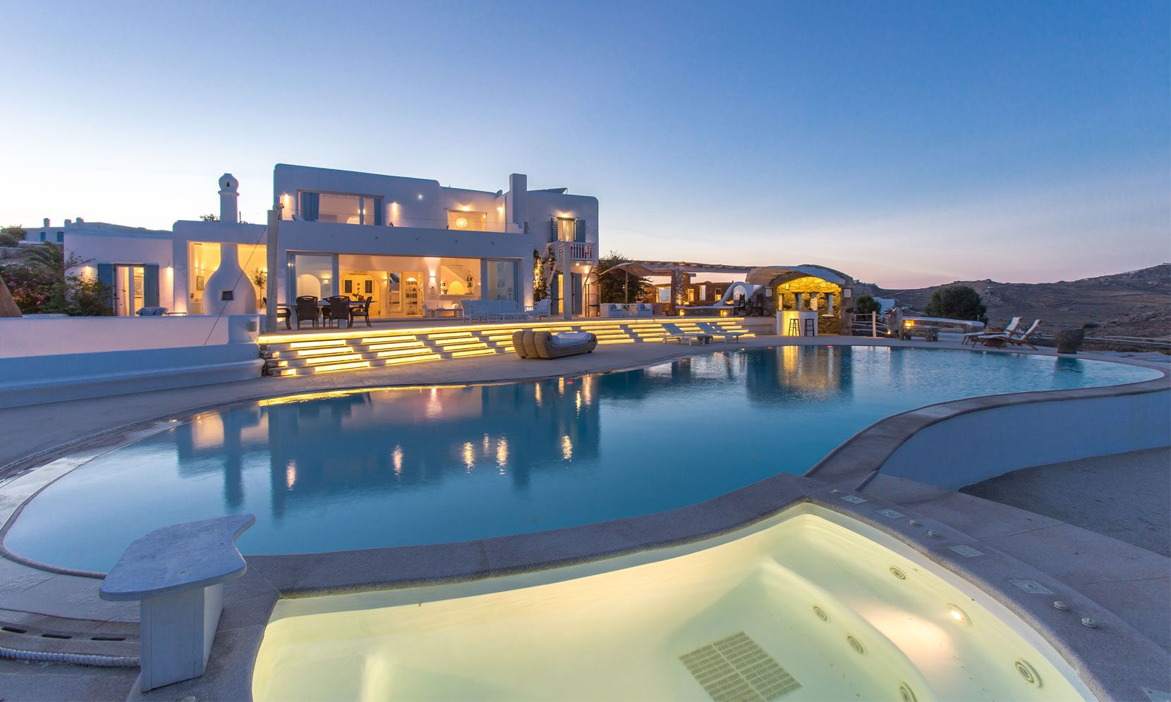 Mykonos Luxury Villa Hermes jumbotron image