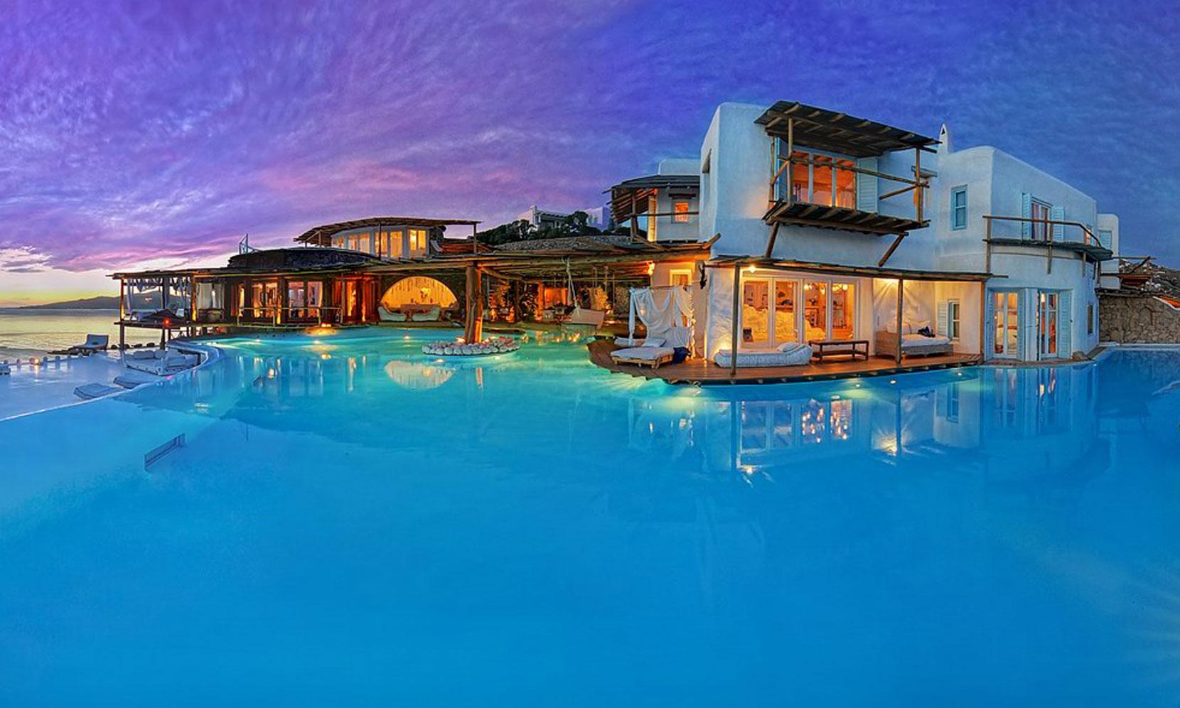 Best Mediterranean Villa Mykonos jumbotron image