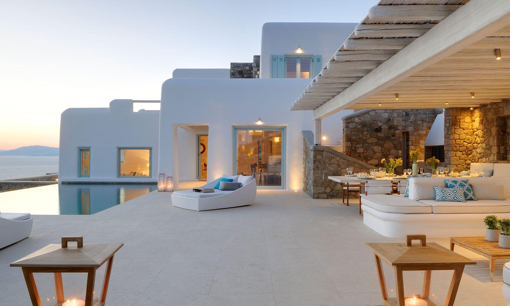 Mykonos Villa Infinity I jumbotron image
