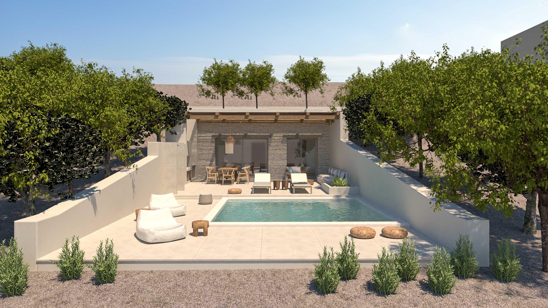 Crete Villa Vista jumbotron image