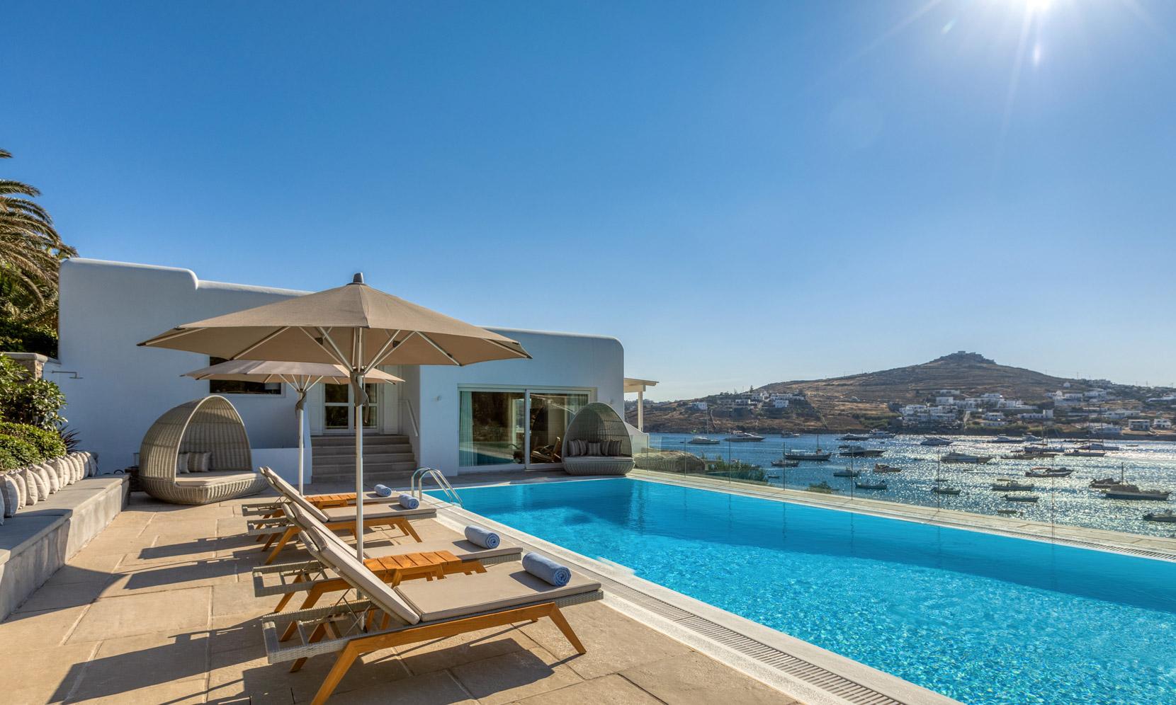 Mykonos Villa Turquoise jumbotron image
