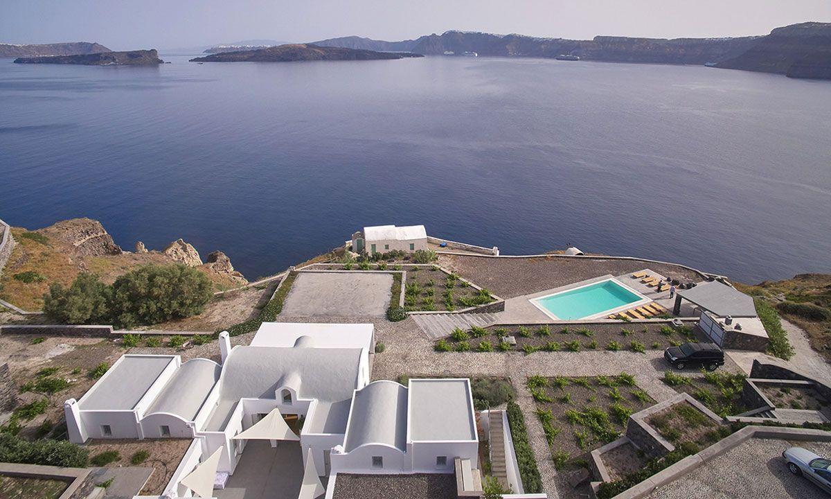Santorini Villa Triton jumbotron image