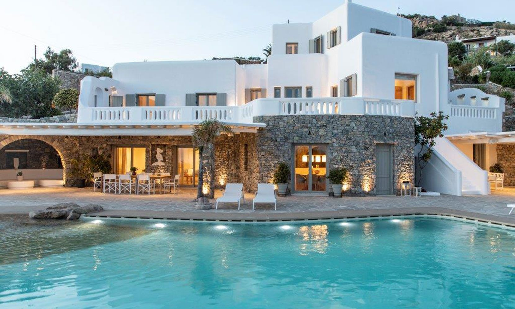 Mykonos Villa Ester jumbotron image