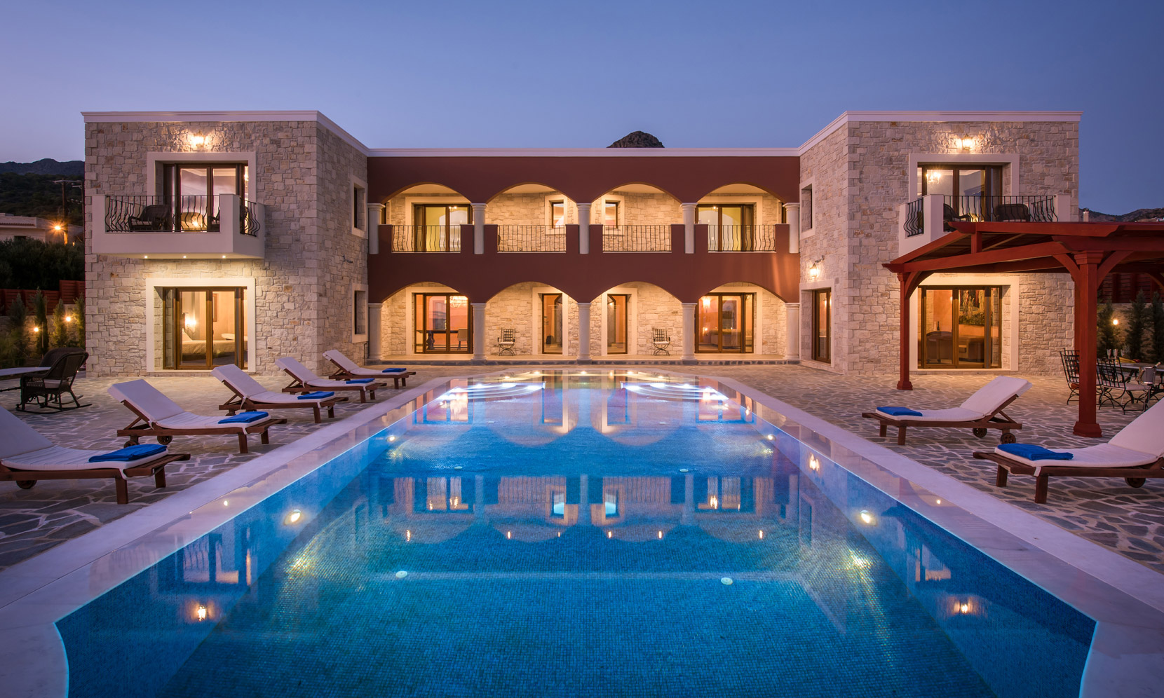 Crete Villa Kalliste jumbotron image