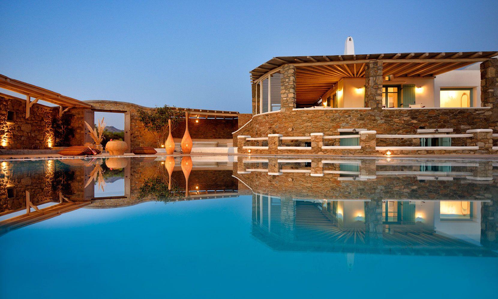 Mykonos Villa Amber jumbotron image