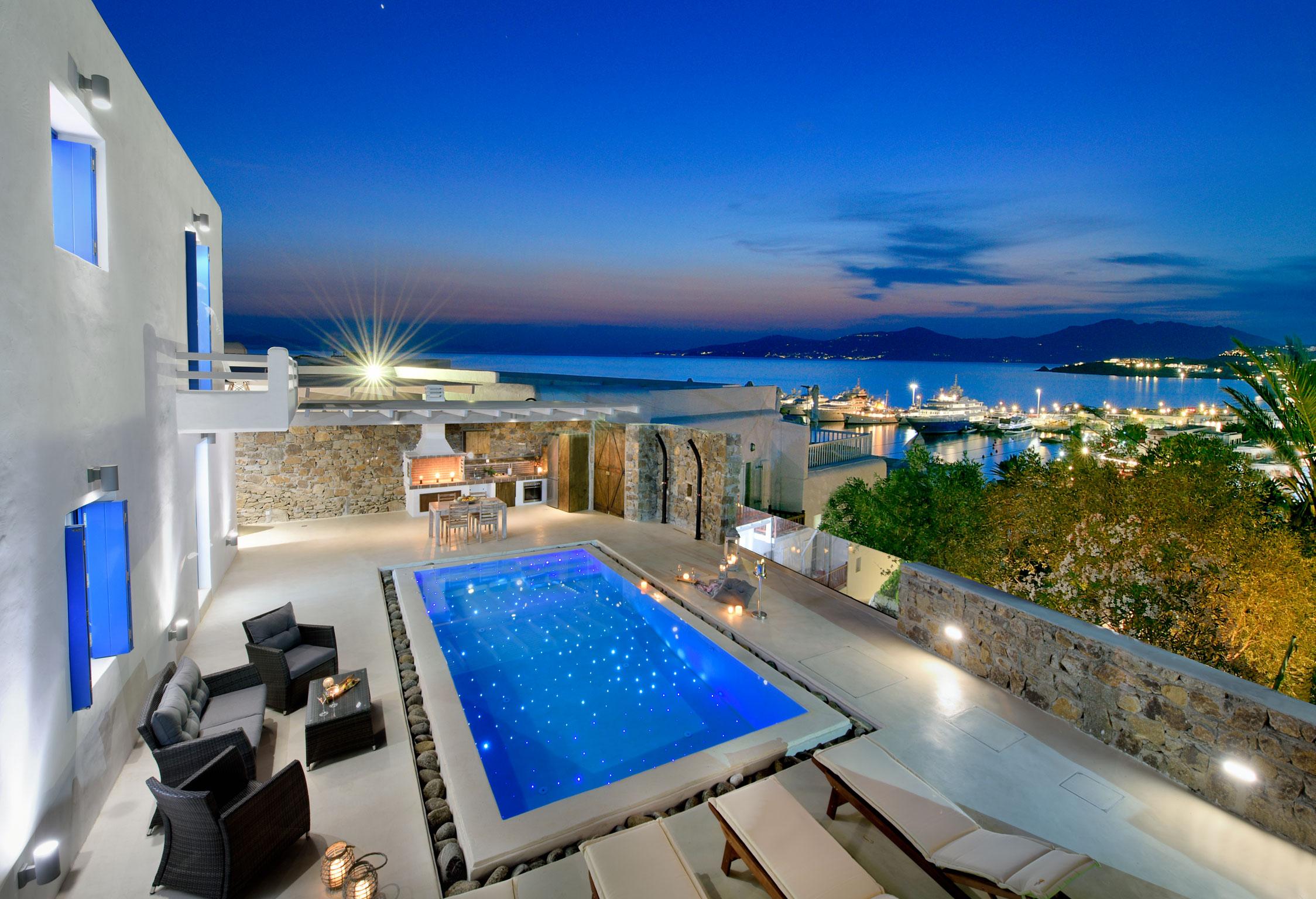 Mykonos Villa Athos jumbotron image