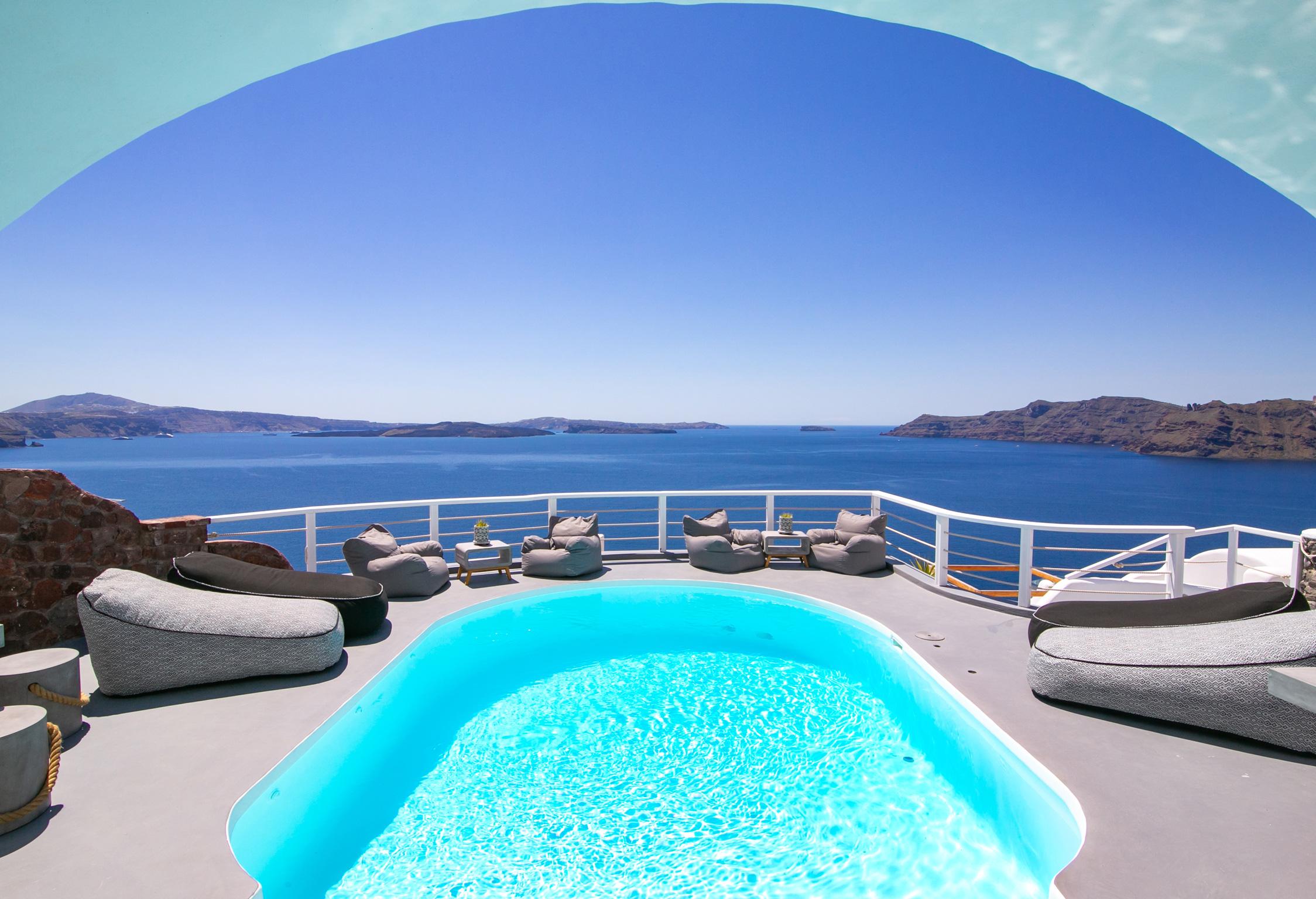 Santorini Villa Thais Grace jumbotron image