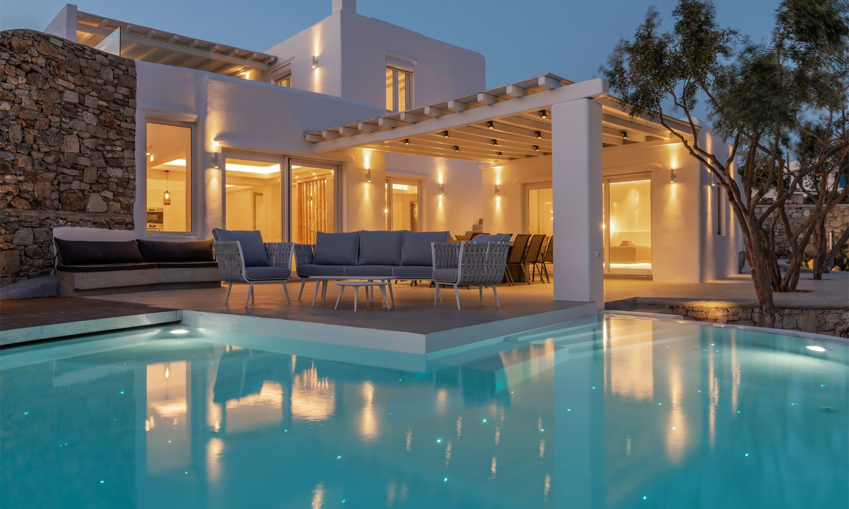Mykonos Villa Victor jumbotron image