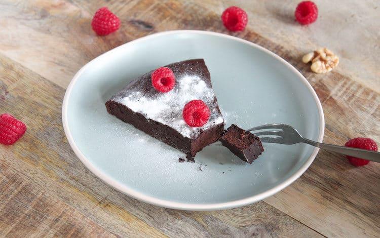 nagerecht chocoladetaart