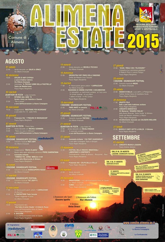 Locandina Estate 2015