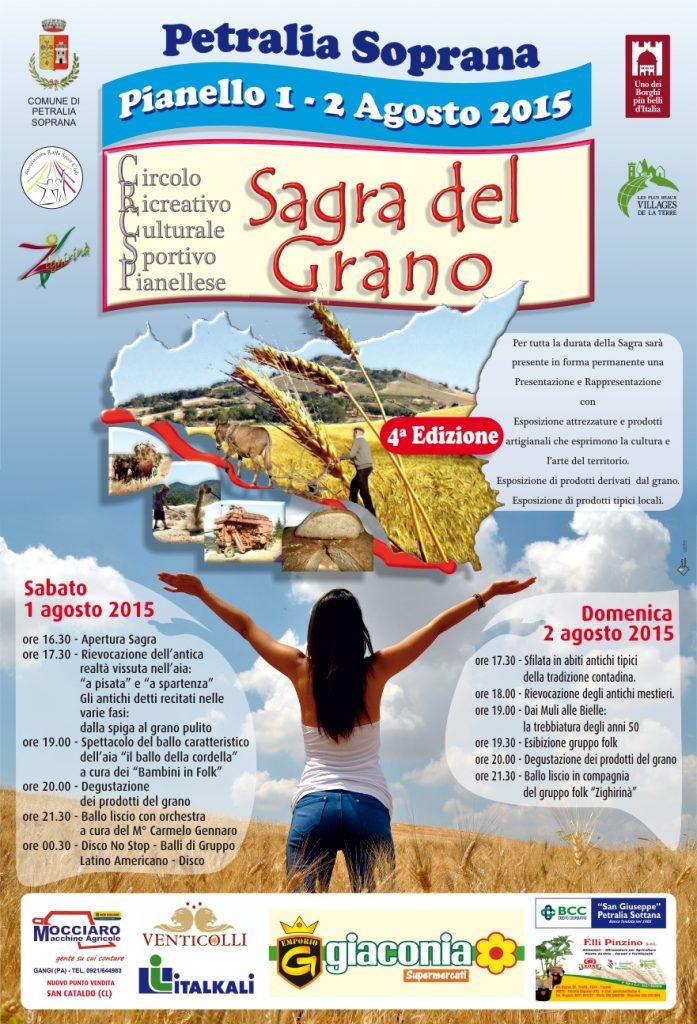 SAGRA DEL GRANO Locandina 2015