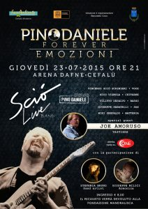 Pino Daniele Forever A4