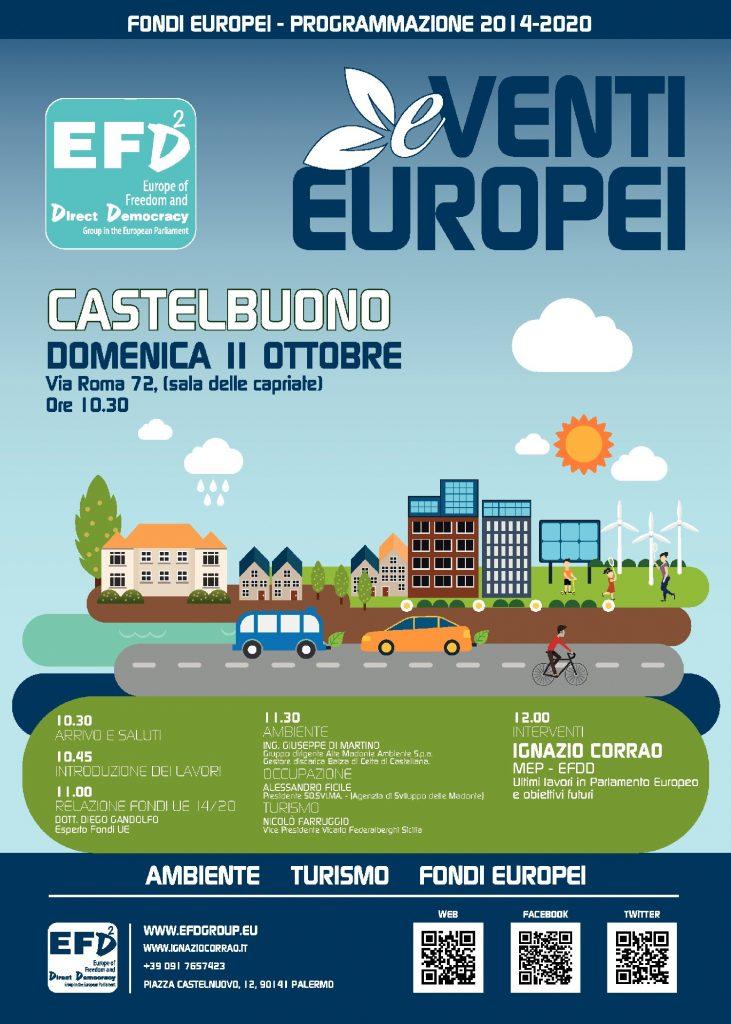 eventi europei locandina