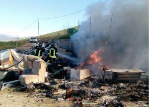 incendio isola ecologica blufi2