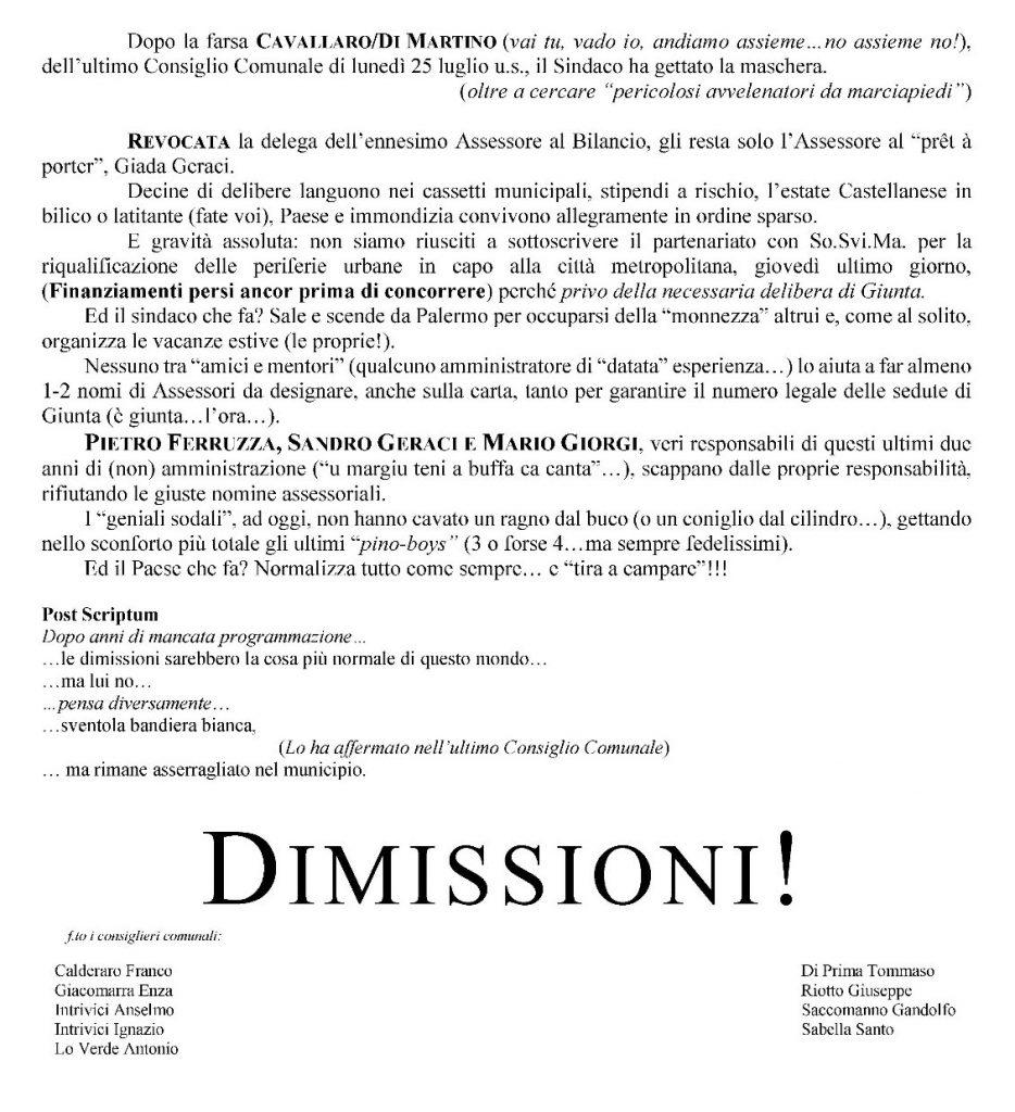 dimissioni castellana2
