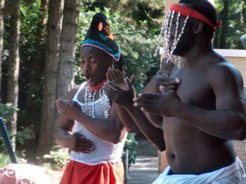 bodypercussie bij Loekie.nu van jambo afrika workshop erg leuk