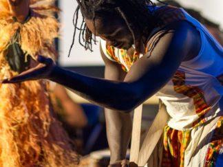 workshop djembe percussie van jambo afrika op loekie.nu