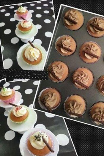 Cupcakes decoreren Loekie.nu