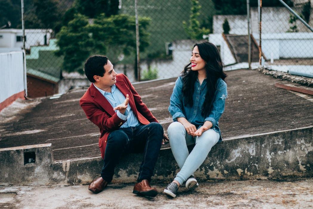 Non verbaal gedrag flirten