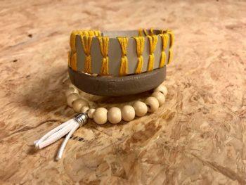 sieraden maken met leer Loekie.nu