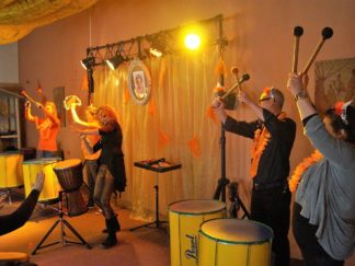 Braziliaanse percussie workshop