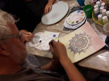 mandala schilderen Loekie.nu