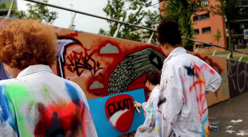 graffiti Loekie.nu