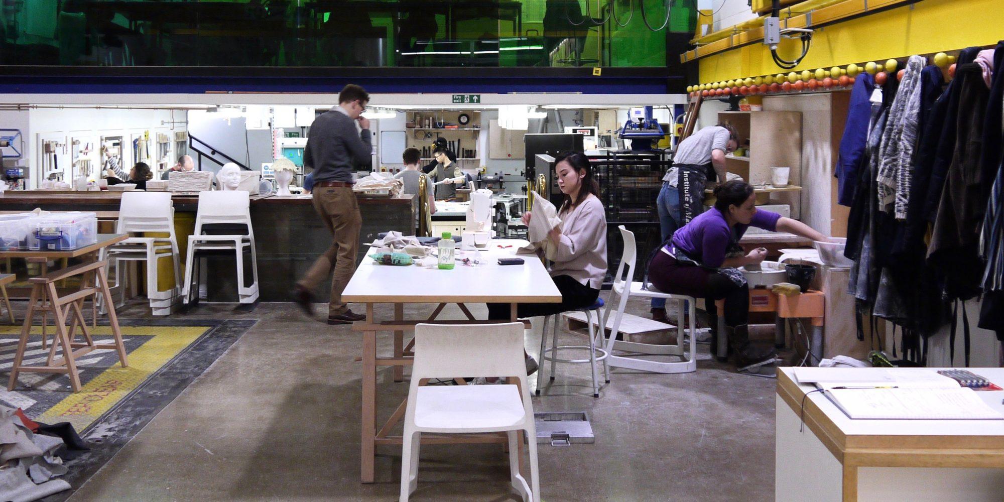 Spaces Rue De Londres in london, makers face gentrification : makery