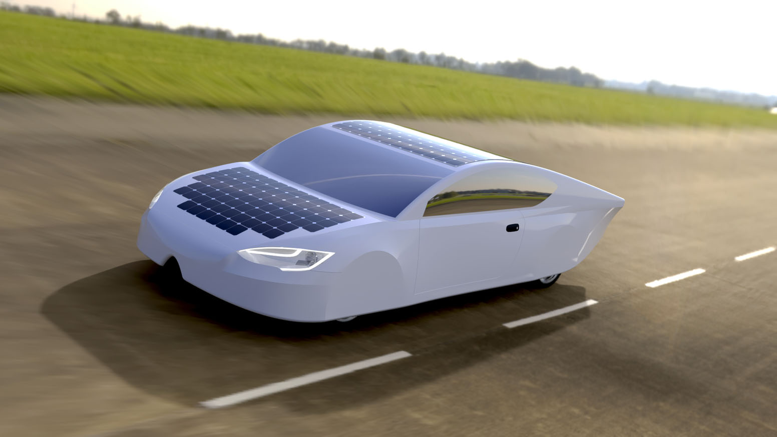 Ultraléger, ce véhicule solaire fonctionne sur batterie ou