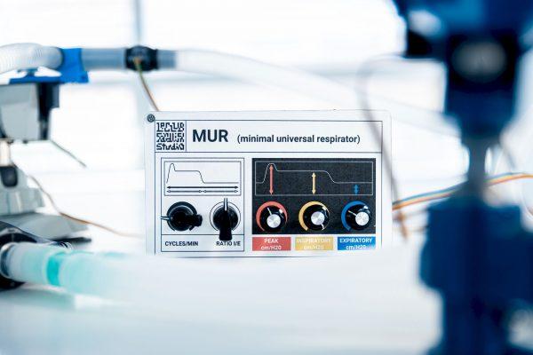 Version 0 of the M.U.R controller. © Quentin Chevrier