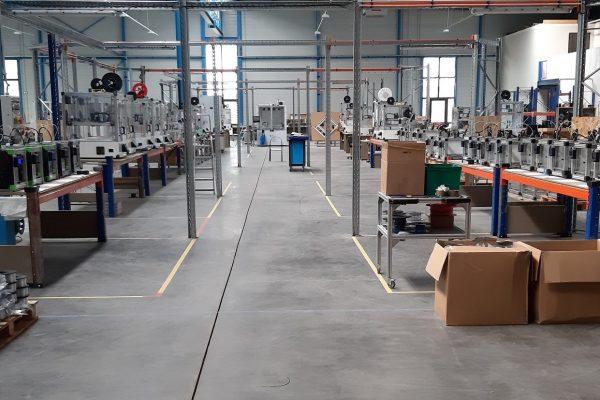 La ferme d'impression 3D de Alchimies Groupe à Dieuze (57) pendant le confinement. Crédit: Alchimies