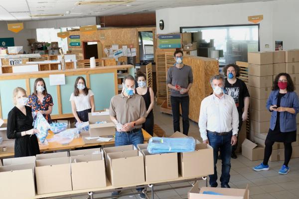 Covid-19: «Un effort d'agilité, de dialogue et de faire ensemble»,  la réponse des makers en Occitanie