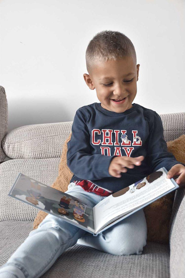 Kinderen genieten van hun persoonlijke boeken